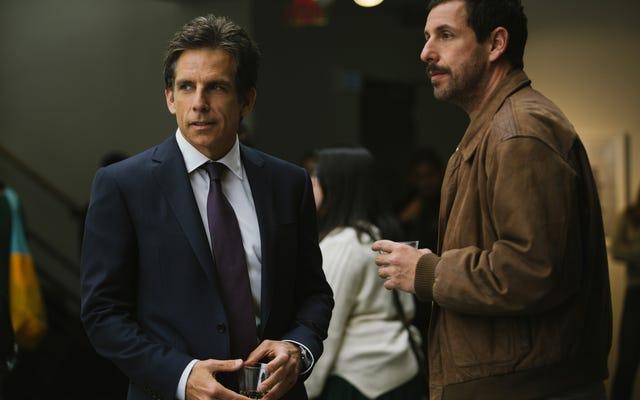 Adam Sandler et Ben Stiller expriment leur amour fraternel dans les émouvantes histoires de Meyerowitz de Noah Baumbach