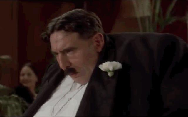 タランティーノの映画の「グラフィックすぎる」シーンは、モンティパイソンのシーンだけです。
