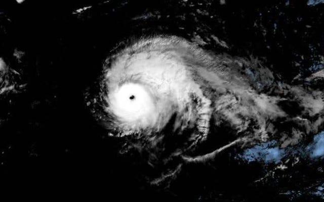 L'uragano Lorenzo stabilisce il record di tempesta più forte osservata finora a nord e ad est dell'Atlantico