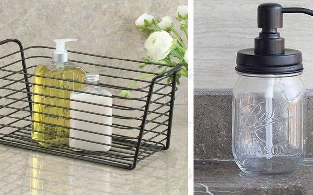Cinco formas de mejorar su baño por menos de $ 25