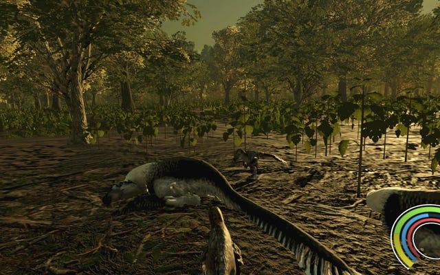 私は「科学的に正確な」恐竜サバイバルゲームで両親を食べました