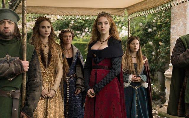Starz continue d'explorer les femmes derrière le trône avec La princesse blanche