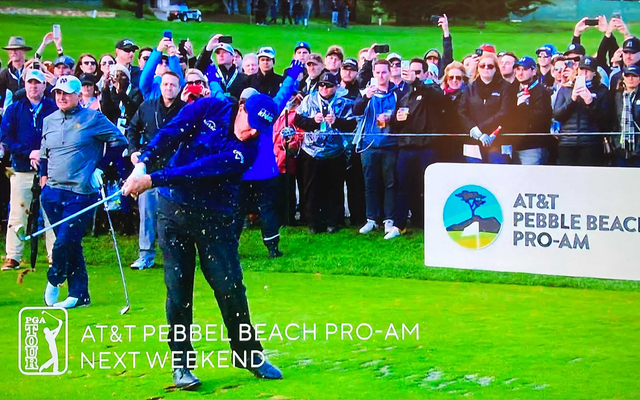 CBSは、「Pebbel BeachPro-Am」にご注目ください。