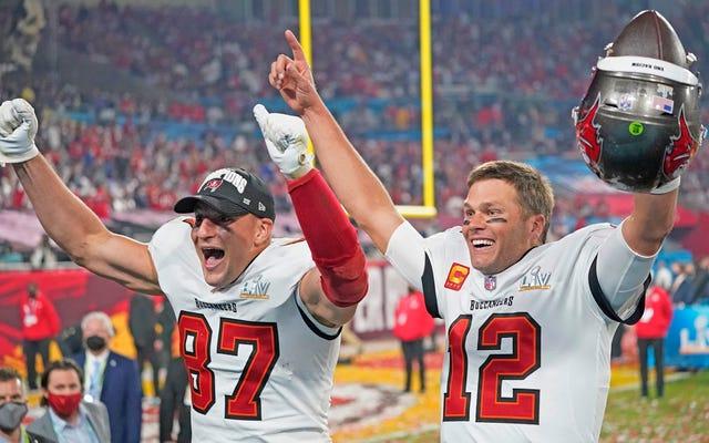 Patriots memenangkan Tampa Bay a Super Bowl