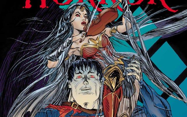 このDCHouse Of Horror限定版は、スーパーヒーローの怖い側面を明らかにします