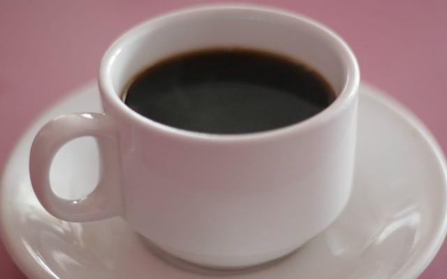 Vous n'avez pas besoin de laver votre tasse de café tous les jours