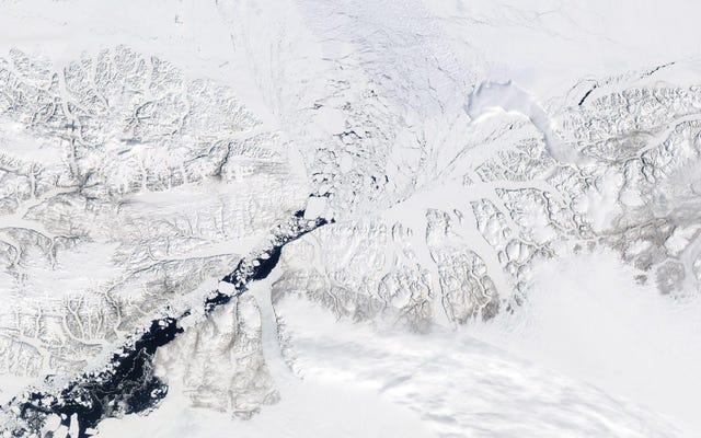 La porte d'entrée protégeant la plus ancienne glace de mer de l'Arctique s'est effondrée des mois avant la date prévue