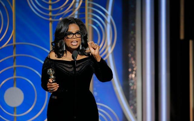 Oprah ha cambiato il suo copripiumino