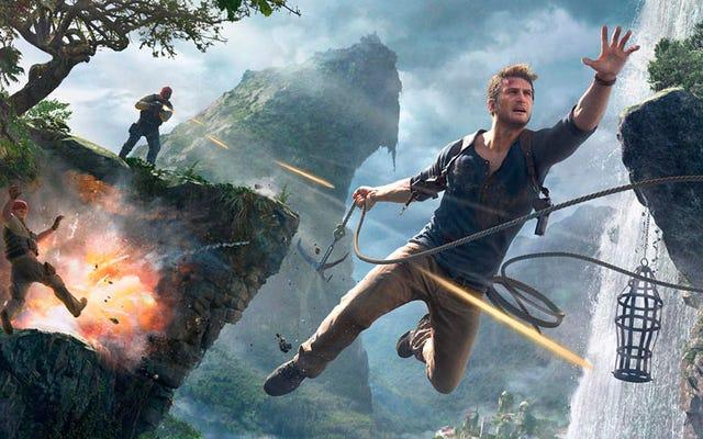 I creatori di Uncharted spiegano perché Nathan Drake è in grado di sopravvivere a così tanti colpi