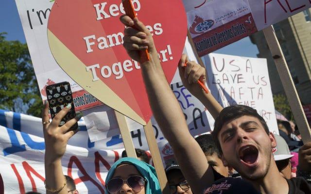 स्प्लिट स्कॉटस निर्णय का अर्थ है कि ट्रम्प प्रेसीडेंसी अप्रवासी परिवारों के लिए एक दुःस्वप्न होगा