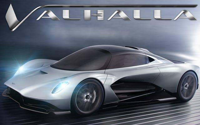ジェームズ・ボンドがボンド25で新しいアストンマーティン・ヴァルハラをドライブする:レポート