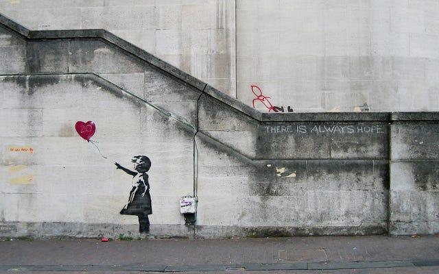 Wie Math Geeks Banksy fast doxxed