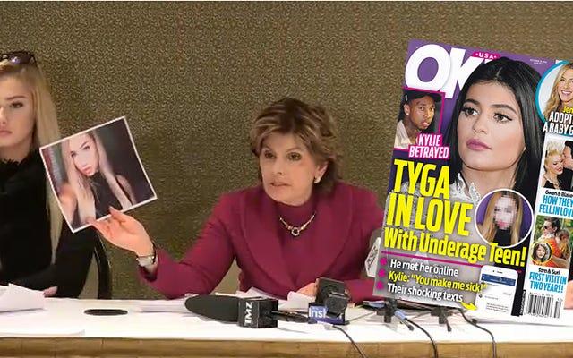グローリア・オルレッドはOKの後、14歳の少女を守る!タイガとのセックススキャンダルに彼女を巻き込む