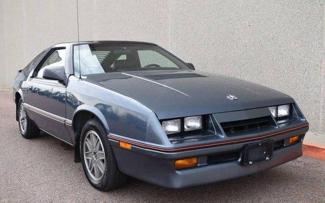Dengan $ 8.995, Apakah Ini Chrysler Laser XT Turbo 1986 Kesepakatan yang Benar-Benar Koheren?