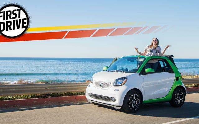 La smart électrique ForTwo est la réponse aux personnes qui disent que les voitures ne sont plus bizarres