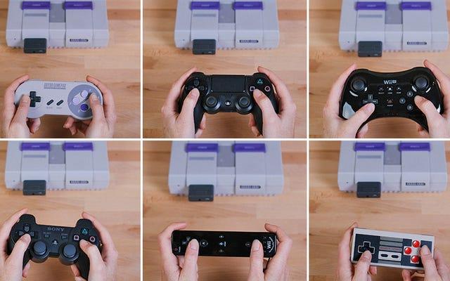 オリジナルのスーパーファミコンでワイヤレスコントローラーを使用できるようになりました