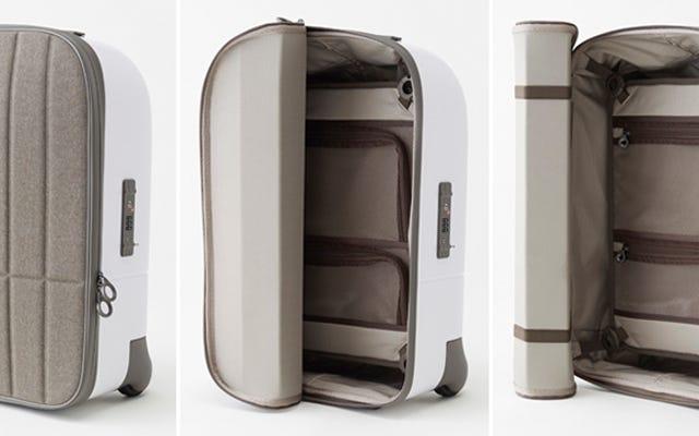 邪魔にならないロールアップ蓋付きのより良いスーツケース