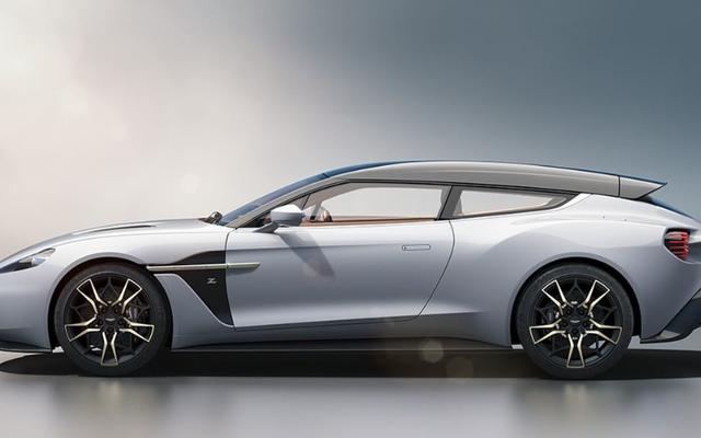 Вот еще несколько великолепных тормозов Aston Martin Vanquish Zagato Shooting Brake на случай, если вы забыли