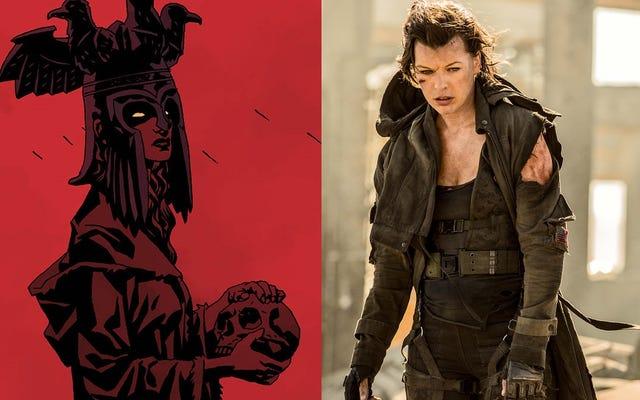 От Resident Evil до Hellboy: Милла Йовович станет злодеем в новой перезагрузке саги