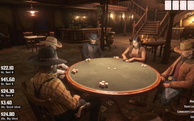 Bản cập nhật Red Dead Online mới nhất bổ sung Poker, Ponchos và hơn thế nữa