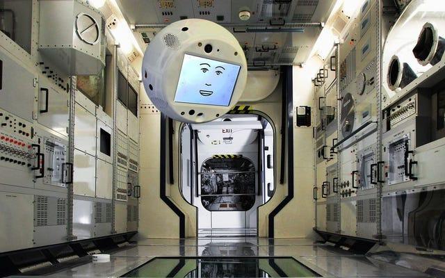 आईएसएस अंतरिक्ष यात्रियों का नया साथी एक फ्लोटिंग रोबोट होगा जिसमें कृत्रिम बुद्धिमत्ता होगी