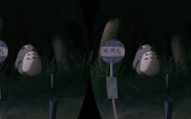 VR vous permet d'attendre un catbus avec Totoro