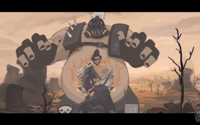 La primera parodia de la estrella del norte se burla de Hanzo Mains en Overwatch