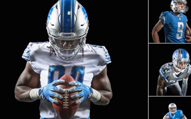 Los Leones de Detroit presentan nuevos uniformes muy similares a los uniformes actuales