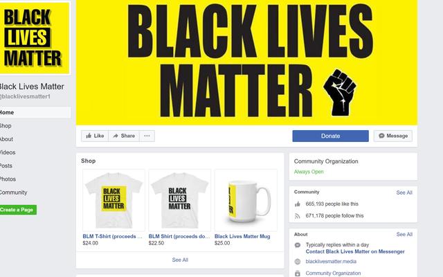 Facebook'un En Büyük Siyah Yaşam Önemlidir Sayfası İddiaya Ait Avustralya Dolandırıcılığı Oldu