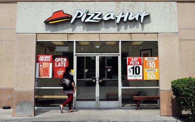 ピザチェーンでさえ文化戦争に参加しています