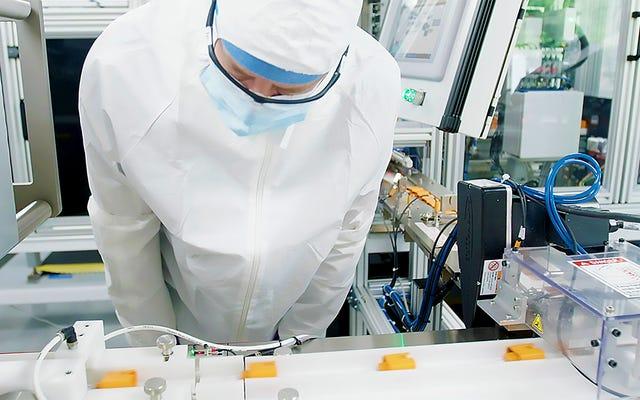 この新しいコロナウイルス検査は5分で病気を検出することができます
