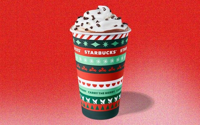スターバックスの注文で無料の再利用可能なホリデーカップを今すぐ手に入れましょう