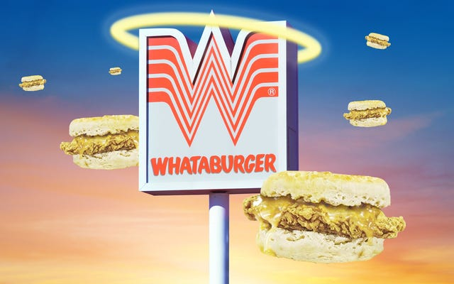 Whataburgerのハニーバターチキンビスケットは、成果、間違い、または神聖な謎ですか?