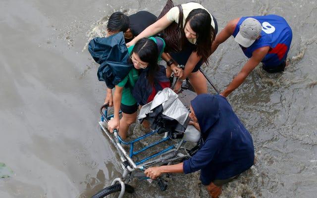 คนเร่ร่อนทั่วโลกกำลังเพิ่มขึ้นเนื่องจากภัยพิบัติ