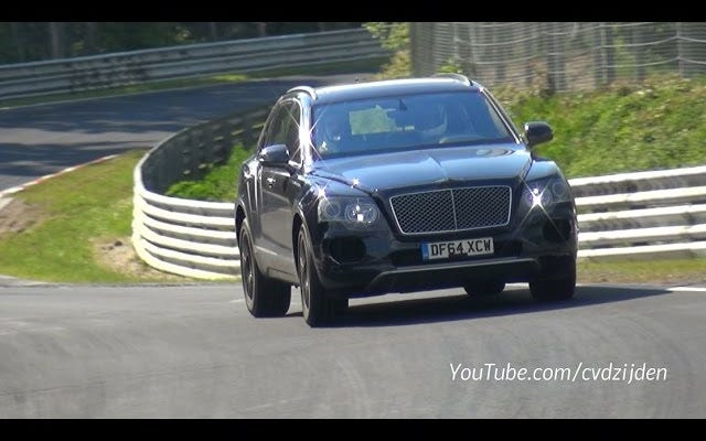 Bentley Bentayga ressemble à un animal de ferme en fuite sur le Nürburgring