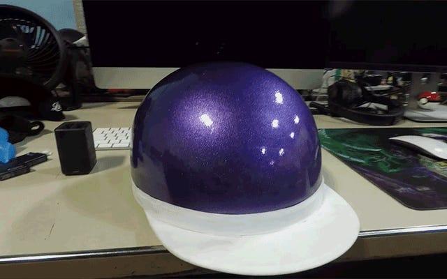 ヘルメットの塗装はこれまでずっと簡単だったと言っていますか?