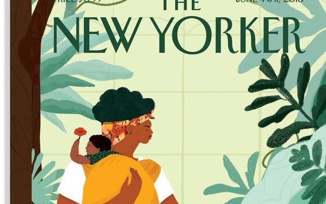 新しい芸術-学校の卒業生はすでにニューヨーカーの表紙を上陸させました
