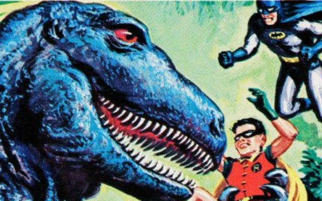 Nghệ sĩ đứng sau Topps 'Mars Attacks cũng đã làm một số thẻ Batman hoang dã