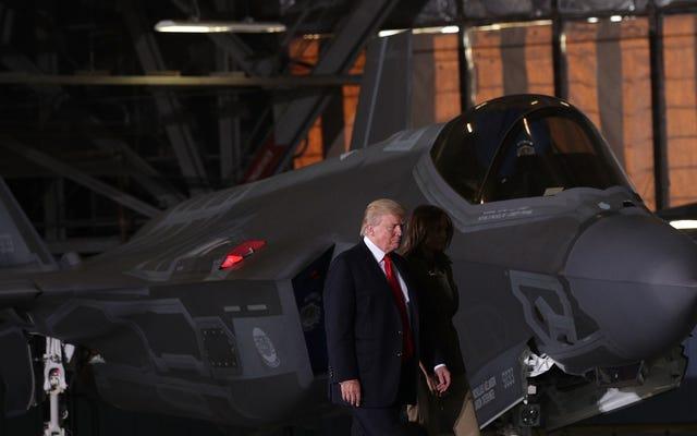 Oh Güzel, Trump Sonuçta Washington DC'de Tanklarını ve Savaş Jetlerini Elde Ediyor