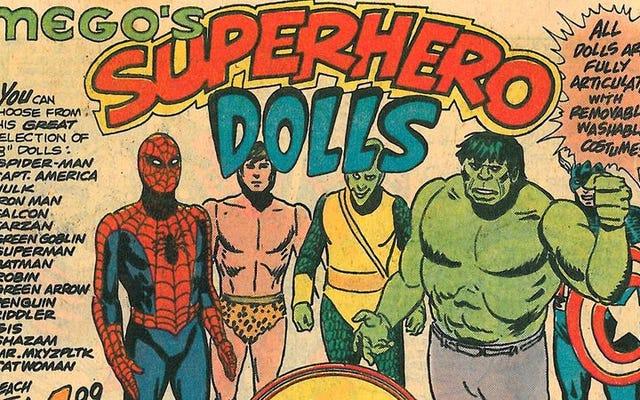 メゴはスパイダーマン、フォンジー、ボールバスターで1970年代のおもちゃゲームを支配しました