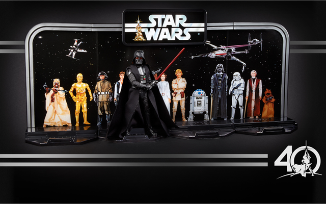Tokoh-tokoh Peringatan Star Wars ke-40 Hasbro Adalah Kemunduran yang Luar Biasa