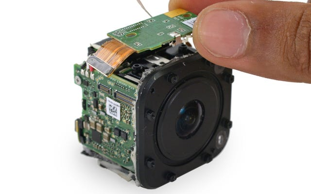 Что внутри крошечной новой камеры GoPro?