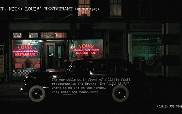 コッポラの脚本とリアルタイムで比較した、ゴッドファーザーの最高のシーンの1つ