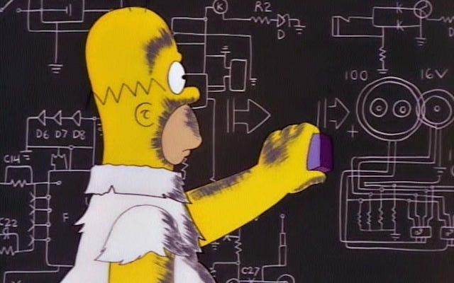 Jak blisko byli Simpsonowie od ustalenia masy bozonu Higgsa?