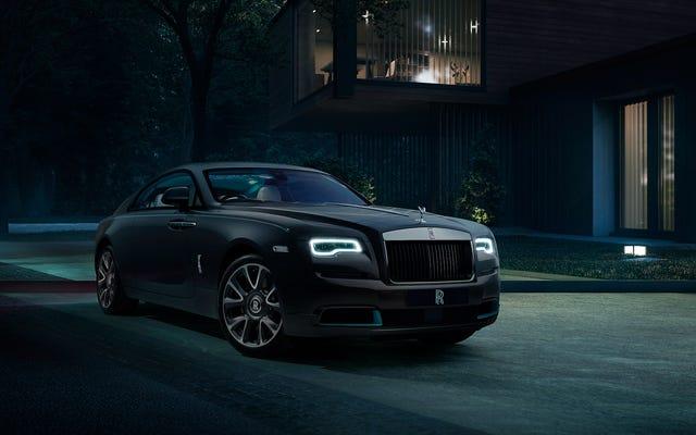 Rolls-Royce laisse tomber des indices pour le chiffrement Wraith Kryptos parce que vous en avez tous envie