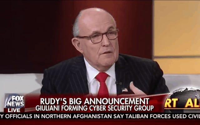 Tercatat Ahli Teknologi Rudy Giuliani akan Membentuk Tim Keamanan Siber Trump
