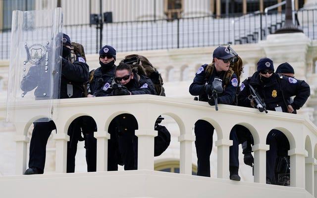 白人過激派は国会議事堂の包囲後に政治家と警官の殺人を求めた