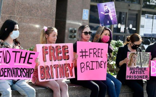 Britney Spears'ın Babası Eş-Koruyucusu Olmaya Devam Edecek