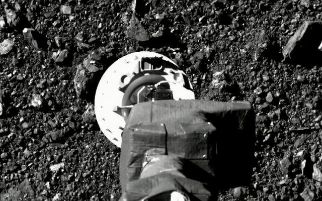 Imágenes asombrosas muestran el intento de la NASA de sacar muestras de un asteroide