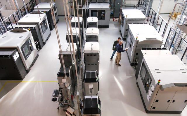 GM aumenta la capacidad de impresión 3D y es posible que pronto lleguen gloriosos Restomods